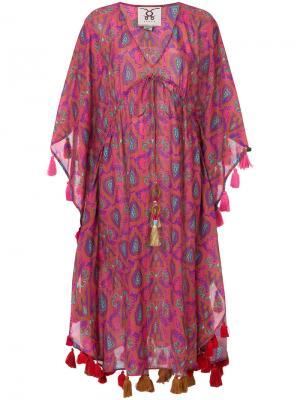 Платье Amirita Figue. Цвет: розовый и фиолетовый
