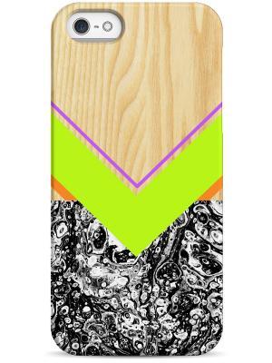 Чехол для Iphone5/5s Sahar. Цвет: оливковый, белый, черный