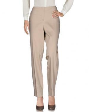 Повседневные брюки FONTANA COUTURE. Цвет: бежевый