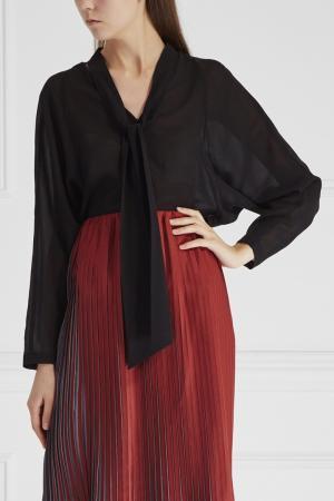 Блузка из шелка и хлопка Cyrille Gassiline. Цвет: none