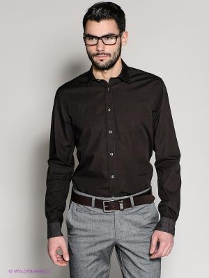 Рубашка 18CRR81 CERRUTI. Цвет: коричневый