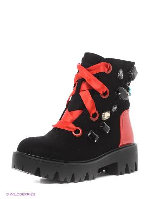 Ботинки BALD EAGLE. Цвет: черный