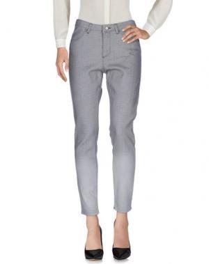 Повседневные брюки INTROPIA. Цвет: серый