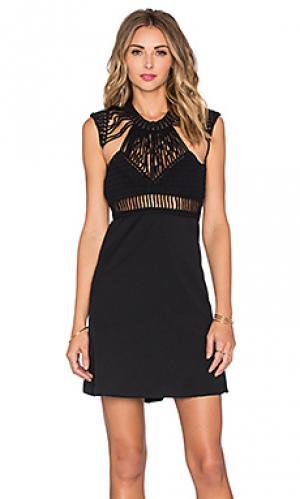 Мини платье alter ego Lisa Maree. Цвет: черный