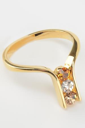 Кольцо Inesse M. Цвет: золотой, белый
