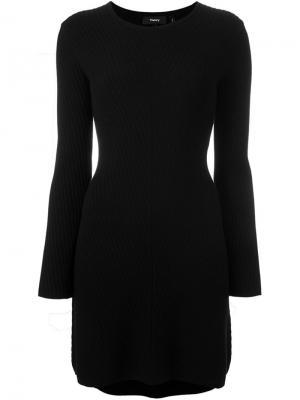 Платье Ardesia Theory. Цвет: чёрный