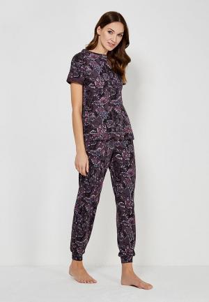 Пижама Marks & Spencer. Цвет: фиолетовый