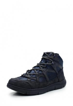 Ботинки трекинговые Tesoro. Цвет: синий