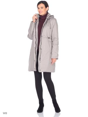 Пальто EEVI Maritta. Цвет: серо-коричневый