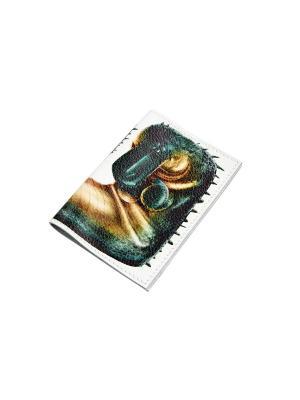Обложка для паспорта Кажан. Цвет: зеленый