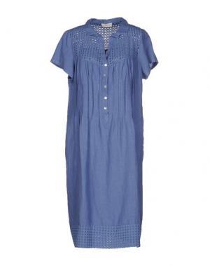 Платье до колена CLUB VOLTAIRE. Цвет: фиолетовый