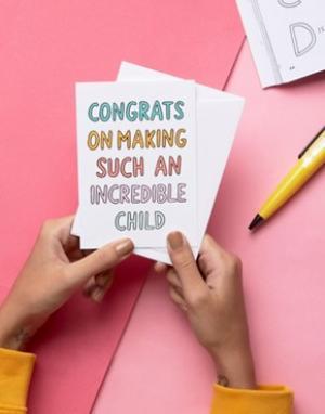 Veronica Dearly Открытка Congrats Mothers. Цвет: мульти