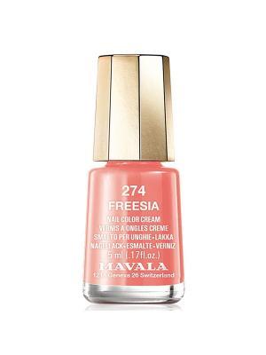 Лак для ногтей тон 274 Freesia Mavala. Цвет: коралловый