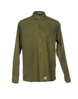 Pубашка DEUS EX MACHINA. Цвет: зеленый-милитари