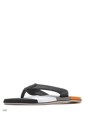 Шлепанцы Icepeak. Цвет: черный, белый, оранжевый