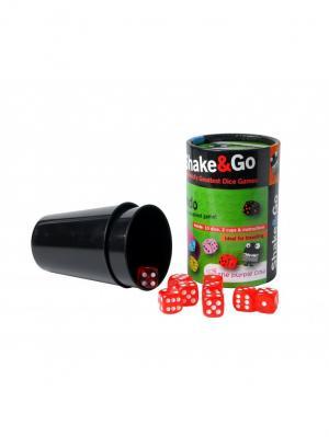 Настольная игра в кости Дудо THE PURPLE COW. Цвет: черный, белый, зеленый, красный