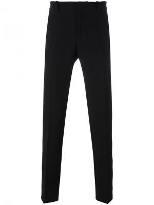 Классические брюки стандартного кроя Tom Rebl. Цвет: чёрный