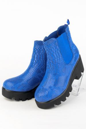 Ботинки Norka. Цвет: синий