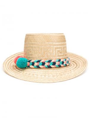 Шляпа Sirena Yosuzi. Цвет: телесный
