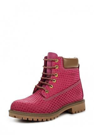 Ботинки Darkwood. Цвет: розовый