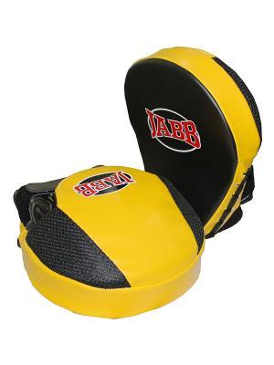 Лапа боксерская (пара) JE-2190 Jabb. Цвет: желтый, черный