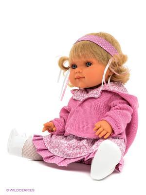Кукла Эвита Antonio Juan. Цвет: бежевый, бледно-розовый