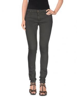 Джинсовые брюки SUPERFINE. Цвет: стальной серый
