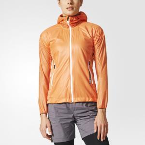 Ветровка TERREX Agravic Alpha  adidas. Цвет: оранжевый