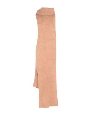 Длинное платье HELEN LAWRENCE. Цвет: телесный