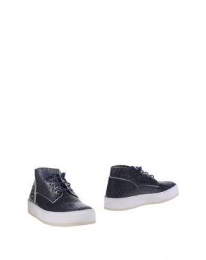 Полусапоги и высокие ботинки BARLEYCORN. Цвет: темно-синий