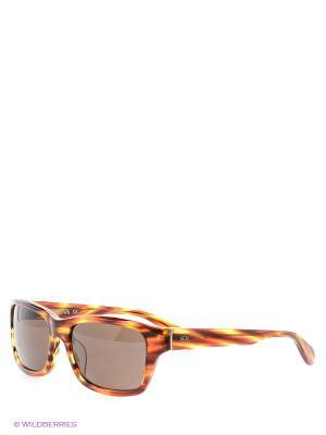 Очки солнцезащитные LM 506 04 La Martina. Цвет: коричневый
