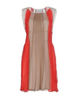 Короткое платье PRINCESSE METROPOLITAINE. Цвет: красный