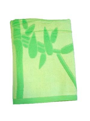 Полотенце шелковистый бамбук 70х140 La Pastel. Цвет: салатовый