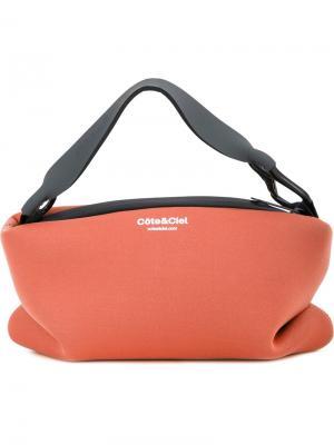 Дорожная сумка Lagoon Côte&Ciel. Цвет: жёлтый и оранжевый