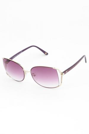 Очки солнцезащитные Laura Biagiotti. Цвет: сиреневый