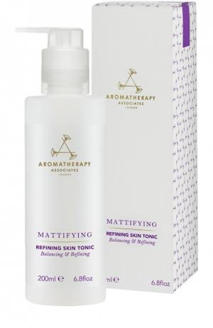 Тоник для жирной и смешанной кожи с поросуживающим эффектом Refining Skin Tonic Aromatherapy Associates. Цвет: бесцветный