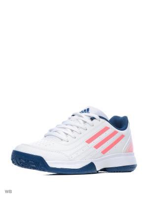 Кроссовки Sonic Attack K  FTWWHT/TECSTE/FLARED Adidas. Цвет: белый, синий, красный