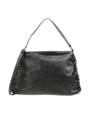 Большая сумка из текстиля GALITZINE. Цвет: черный