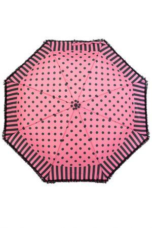 Зонт Ferre Milano. Цвет: розовый