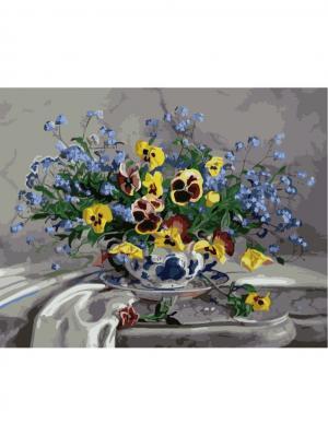 Набор для рисования (40*50)  Натюрморты Menglei. Цвет: серый меланж