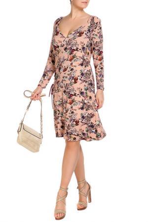 Платье LOLA PALTINGER. Цвет: розовый