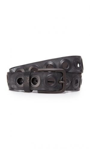 Ремень с кольцом цвета пушечной бронзы B. Belt