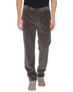 Повседневные брюки GENTRYPORTOFINO. Цвет: темно-зеленый