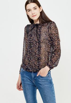 Блуза oodji. Цвет: черный
