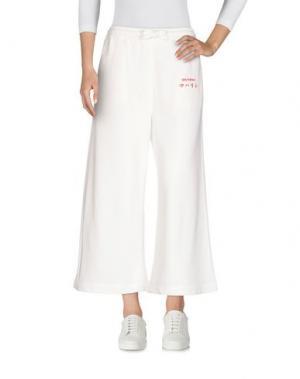 Повседневные брюки MAHARISHI. Цвет: белый