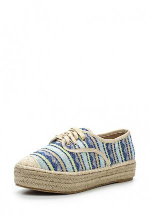 Эспадрильи Max Shoes. Цвет: разноцветный