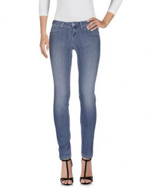 Джинсовые брюки LEE. Цвет: серый
