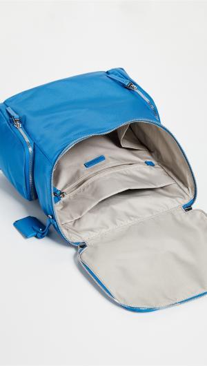 Lexa Zip Flap Backpack Tumi