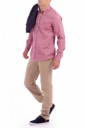 Рубашка POLO CLUB С.H.A.. Цвет: pink