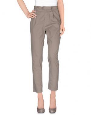 Повседневные брюки DANIELE FIESOLI. Цвет: серый